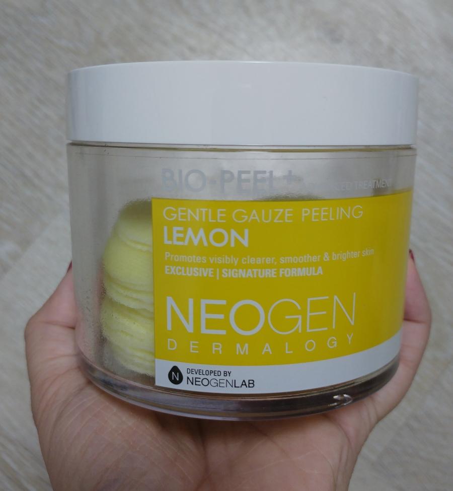 Neogen Lemon Gauze Peeling Pad